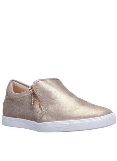 Nine West %100 Deri Casual Ayakkabı Altın